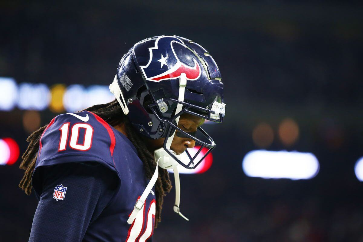 Deandre Hopkins Is A Houston Strong Player