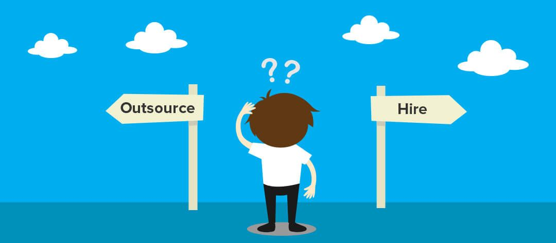 Graph Decision For IT Outsourcing