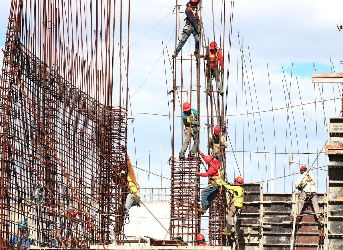 Construction Works On Search Engine Site Outside